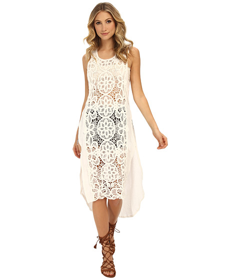 Free People - Never Enough Maxi (Ivory) Women