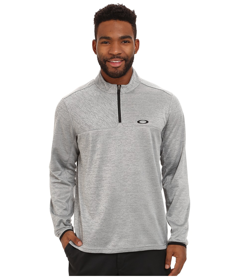 Oakley - Scores 1/4 Zip (Stone Grey) Men's Clothing