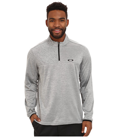 Oakley - Scores 1/4 Zip (Stone Grey) Men
