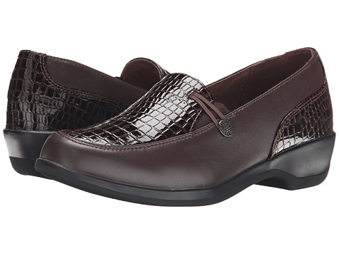 Propet - Briana (Brow/Brown Croco) Women's Shoes