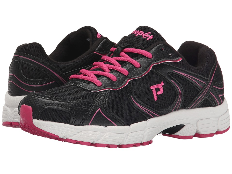 Propet - XV550 (Black/Pink) Women's Flat Shoes