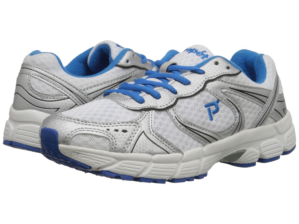 Propet - XV550 (White/Royal Blue) Women