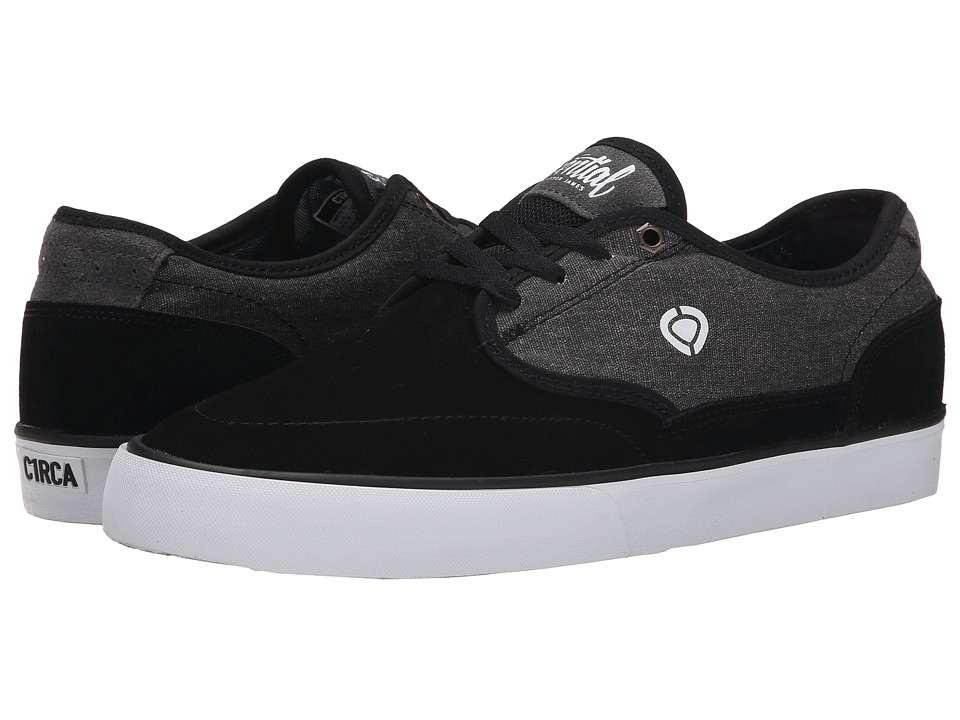 Circa - Essential (Black/Shale) Men's Skate Shoes