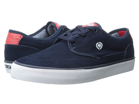 Circa - Essential (Dress Blue/Ribbon Red) Men's Skate Shoes