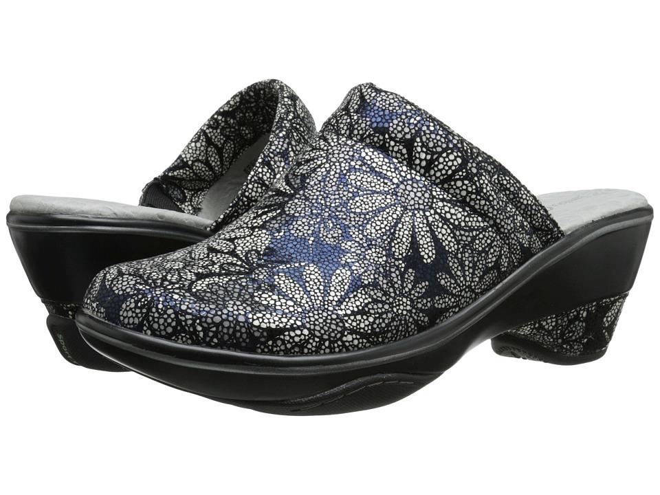 Jambu - Dali (Grey Floral) Women's Clog Shoes