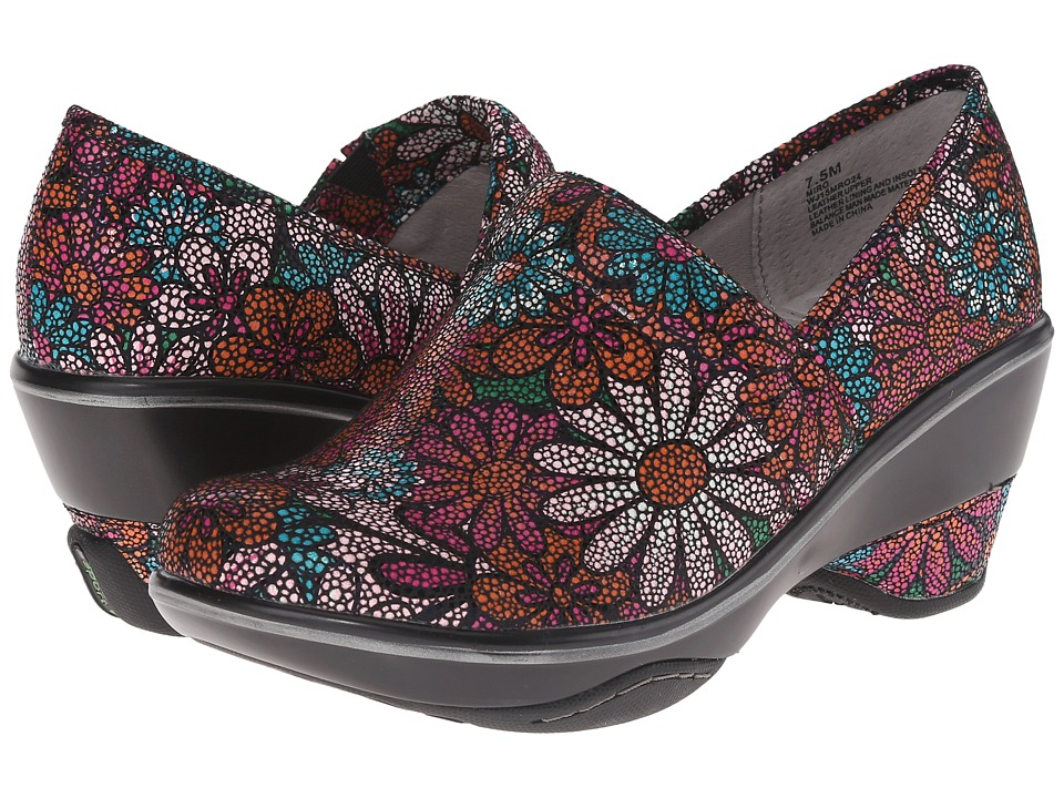 Jambu - Miro (Berry Floral) Women's Clog Shoes