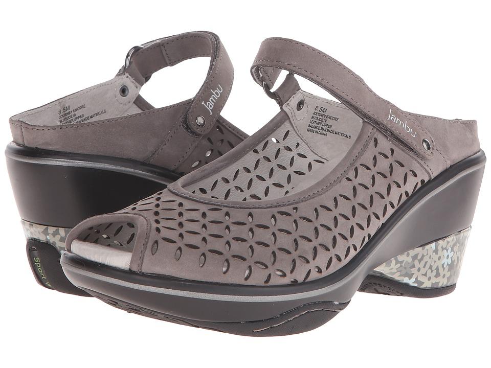 Jambu - Journey Encore (Dark Grey) Women's Maryjane Shoes
