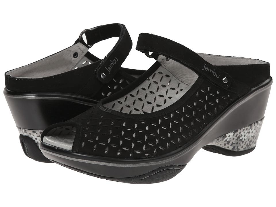 Jambu - Journey Encore (Black) Women's Maryjane Shoes