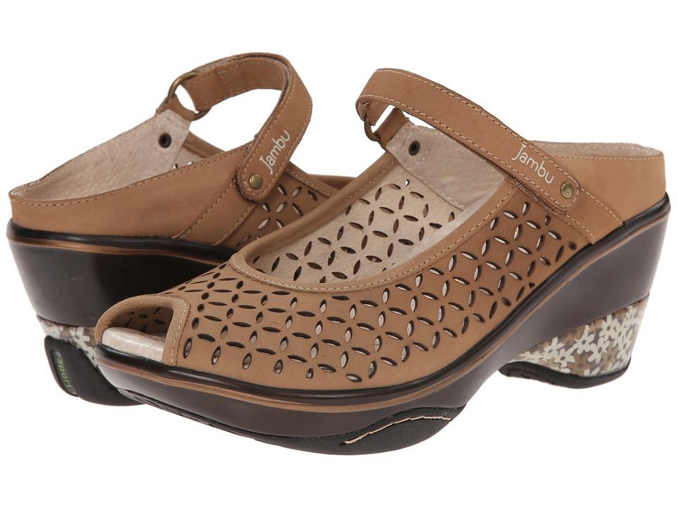 Jambu - Journey Encore (Oatmeal) Women's Maryjane Shoes