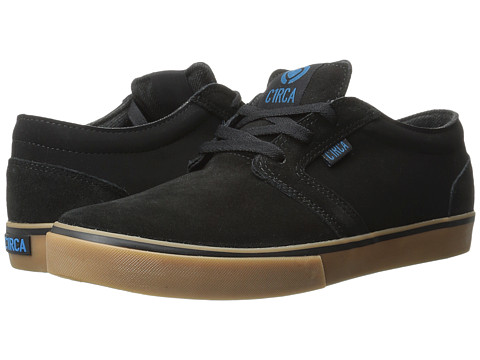 Circa - Hesh (Black/Seaport) Men's Skate Shoes