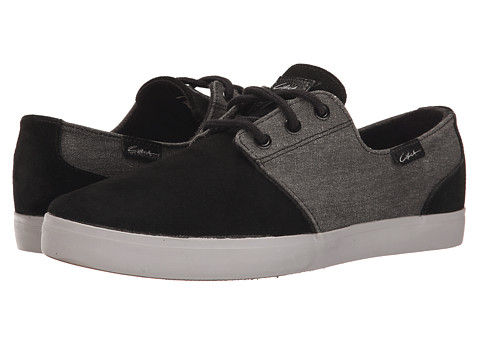 Circa - Crip (Black/Moon) Men's Skate Shoes