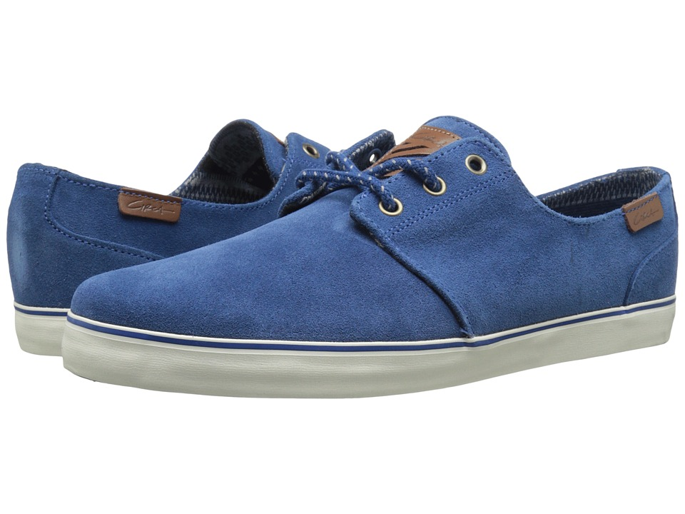 Circa - Crip (Oxblood/Dress Blue) Men's Skate Shoes
