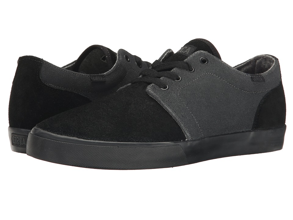Circa - Drifter (Black/Shale) Men's Skate Shoes