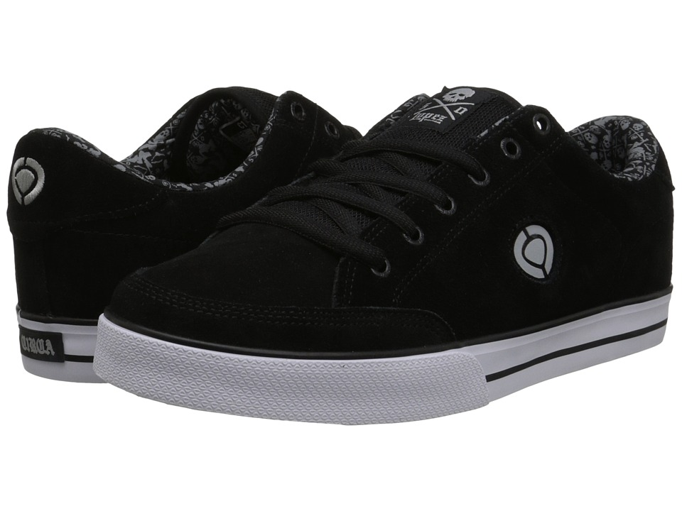 Circa - Lopez 50 (Black/Skull Icon) Men's Skate Shoes
