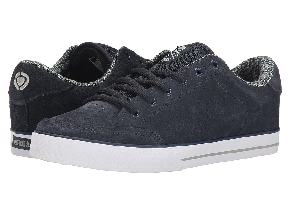 Circa - Lopez 50 (Dress Blue/Paloma) Men's Skate Shoes