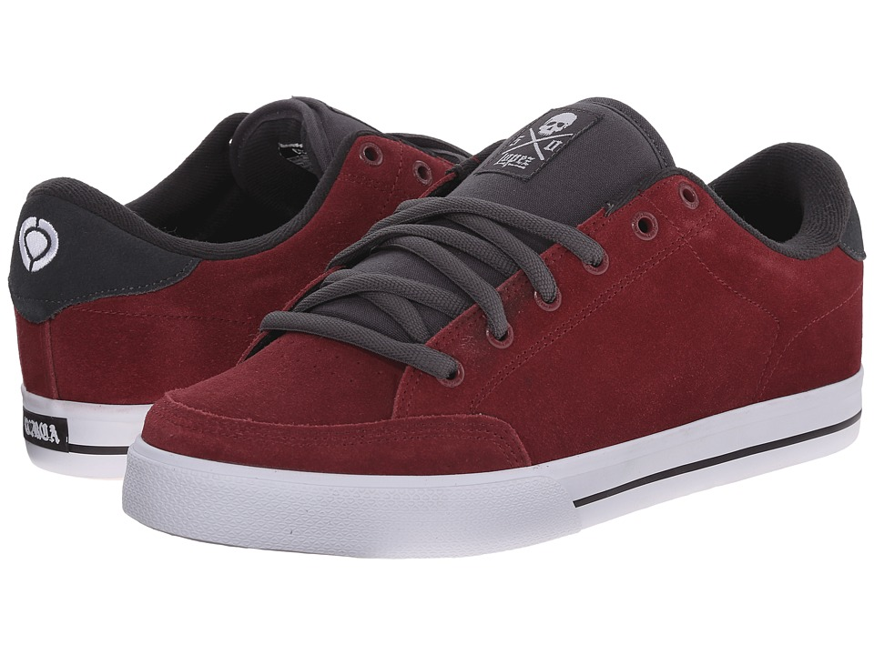 Circa - Lopez 50 (Tawny Port/Shale) Men's Skate Shoes