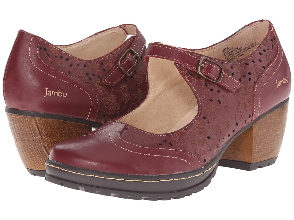 Jambu - Sorbet (Deep Red) Women's Clog Shoes