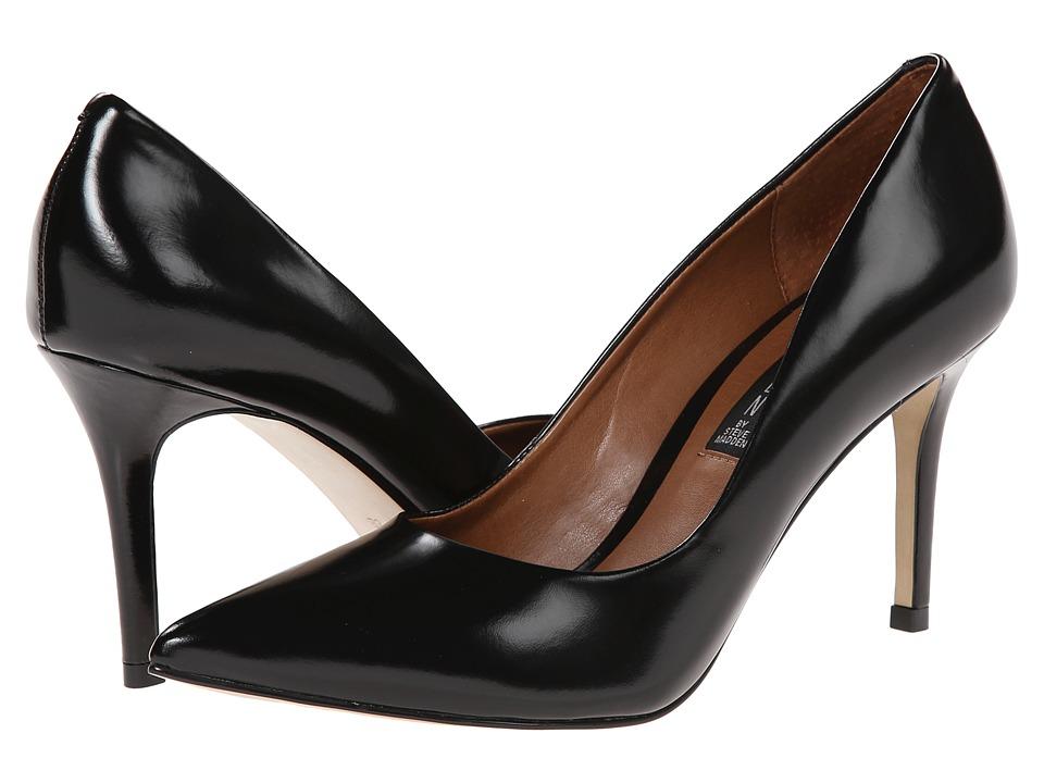 Steven Shiela (Black Leather) High Heels