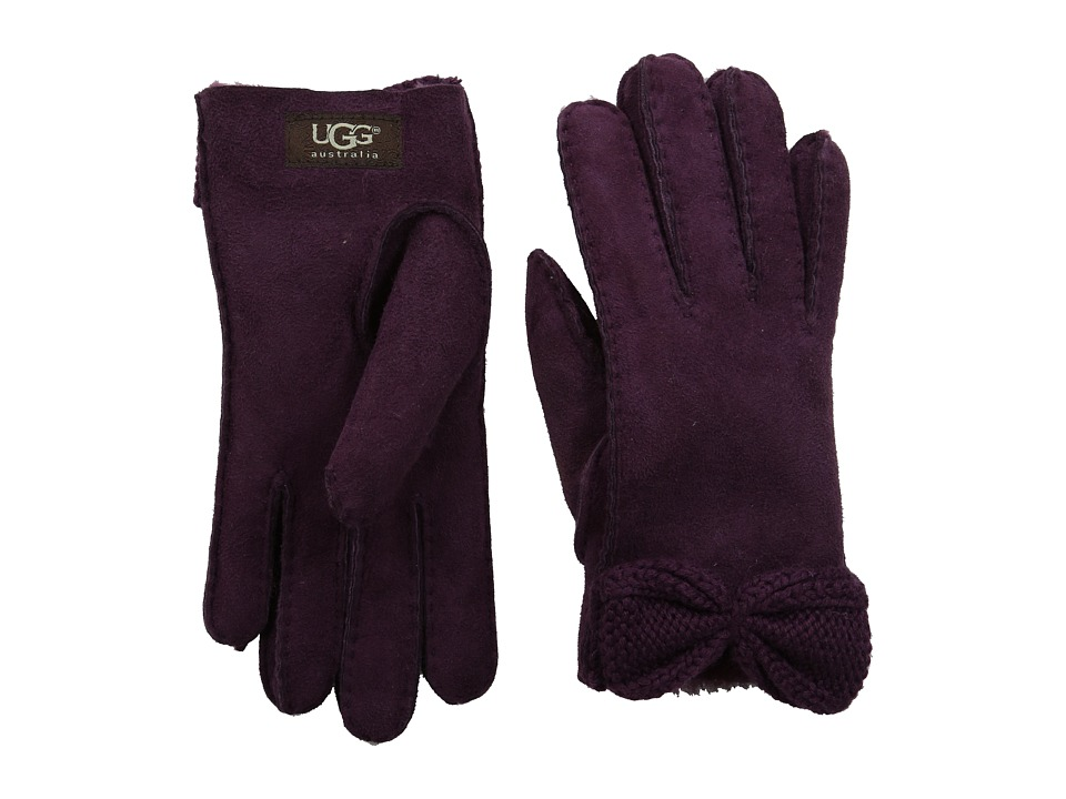 UGG - Bailey Knit Bow Glove (Aster Multi) Extreme Cold Weather Gloves