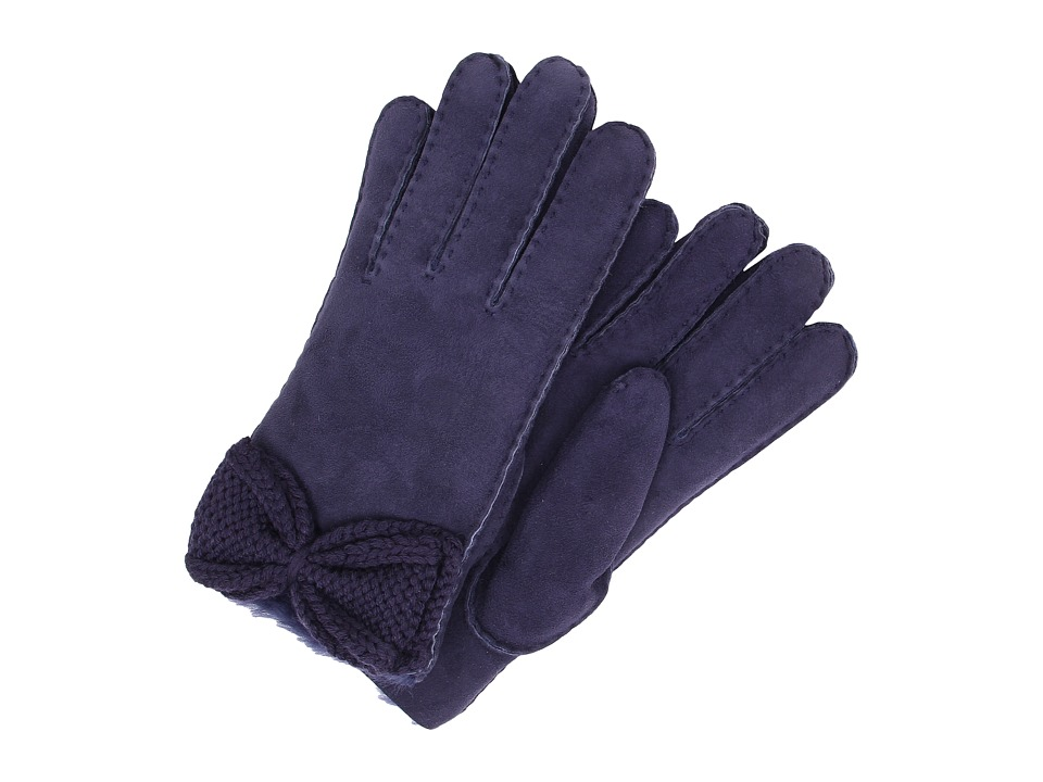 UGG - Bailey Knit Bow Glove (Peacoat Multi) Extreme Cold Weather Gloves