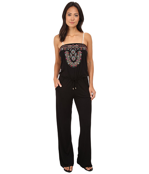 La Blanca - Catalonia Strapless Jumpsuit (Black) Women