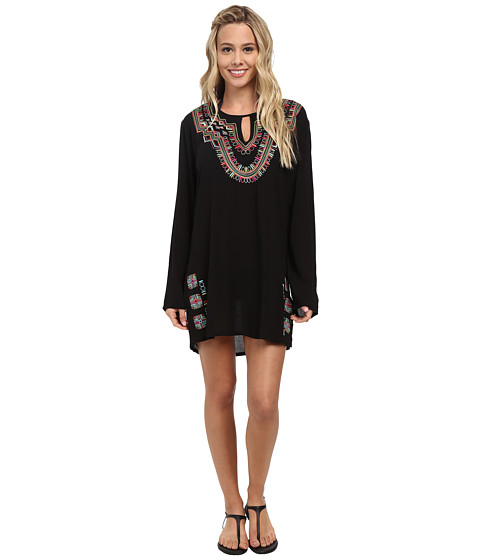 La Blanca - Catalonia Tunic Cover-Up (Black) Women