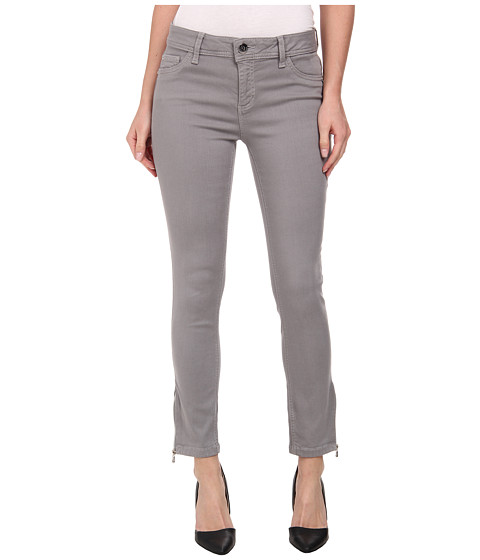 DL1961 - Florence Crop w/ Zip in Pepper Green (Pepper Green) Women's Jeans