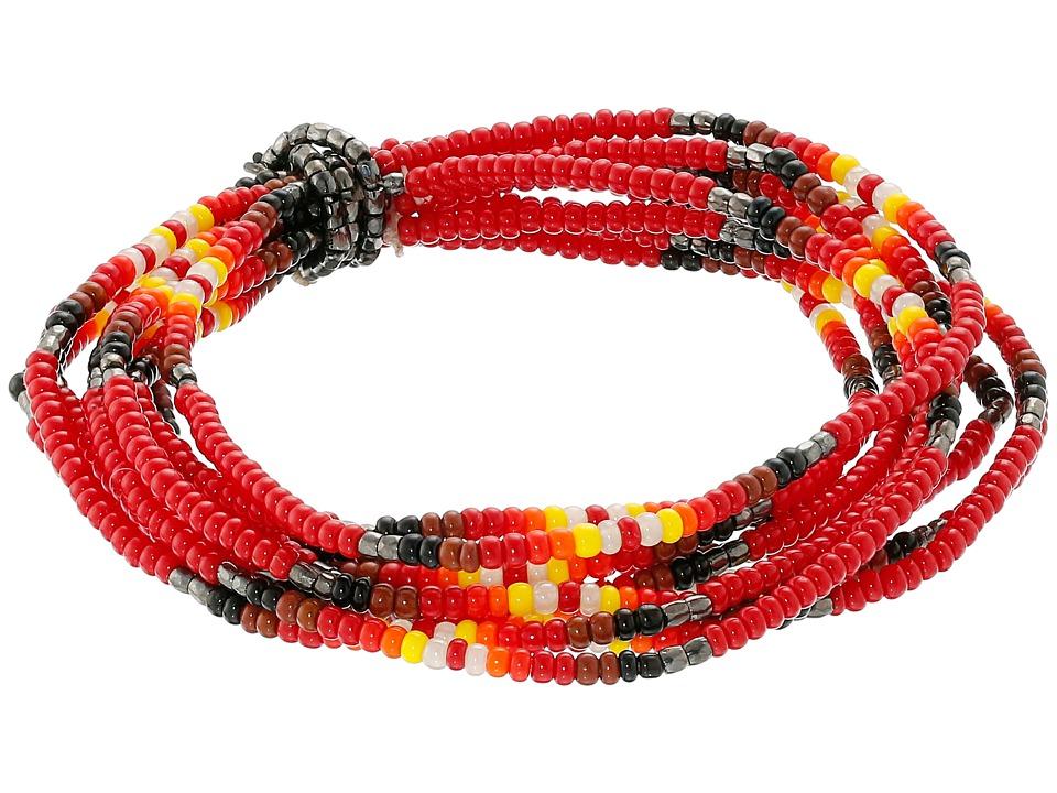 Chan Luu - Multi Strand Stretch Seed Bead Bracelet (Tango) Bracelet