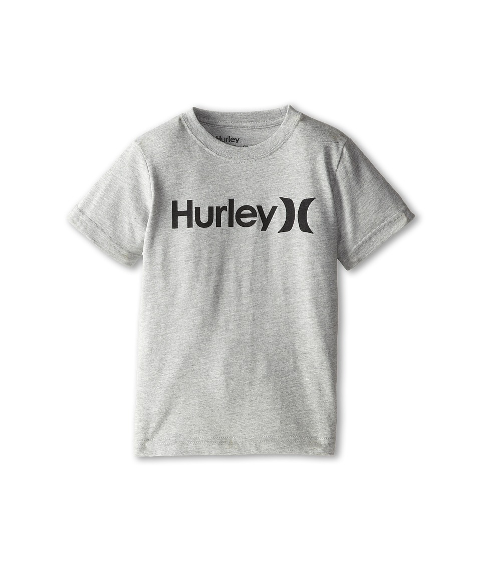 Hurley Kids - One and Only Tee (Little Kids) (Dark Grey Heather) Boy's T Shirt