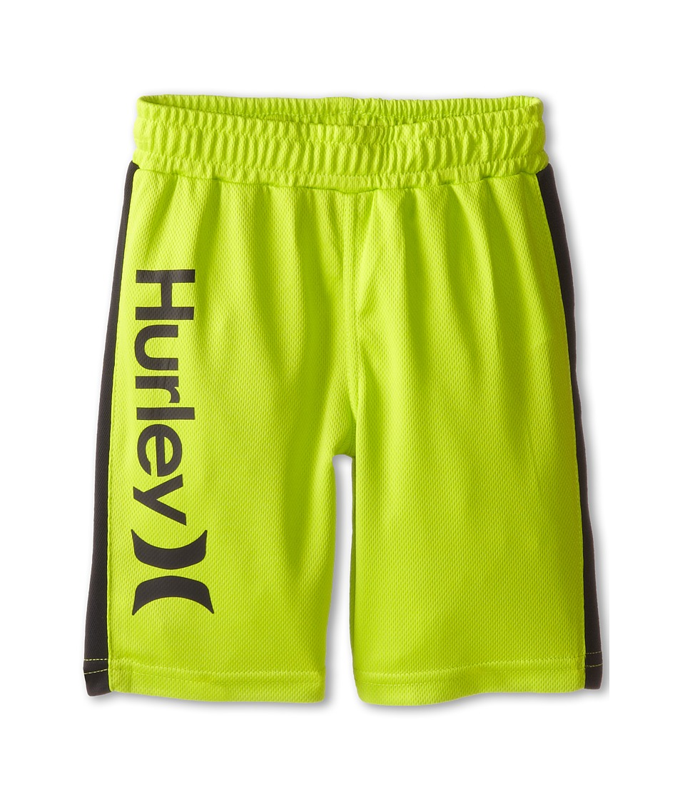 Hurley Kids - Logo Mesh Shorts (Little Kids) (Key West Green) Boy's Shorts