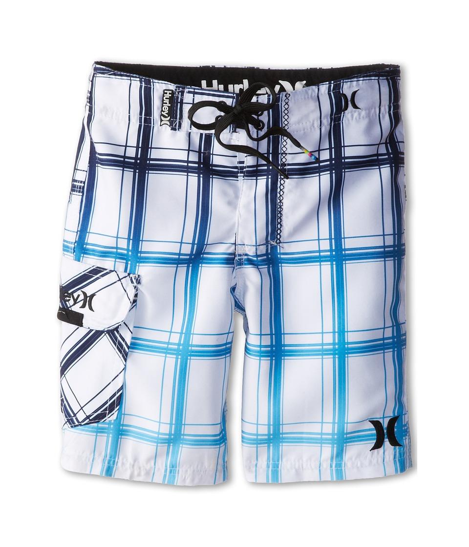 Hurley Kids - Puerto Rico Boardshorts (Little Kids) (White) Boy's Swimwear