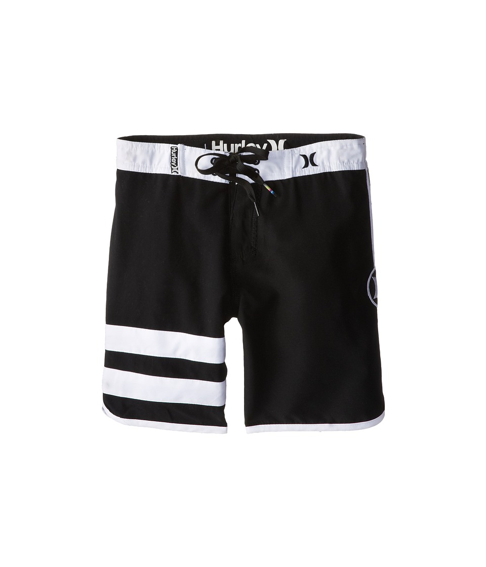 Hurley Kids - Block Party Boardshorts (Little Kids) (Black) Boy