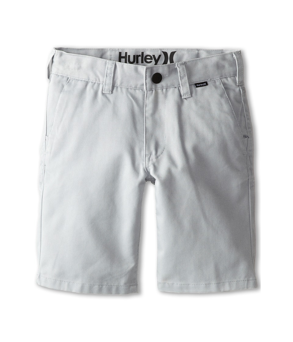 Hurley Kids - One and Only Walkshorts (Little Kids) (Wolf Grey) Boy's Shorts
