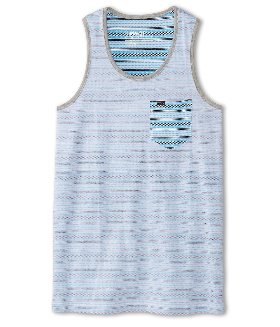 Hurley Kids - Flip It Reverse Tank Top (Big Kids) (Blue Lagoon) Boy