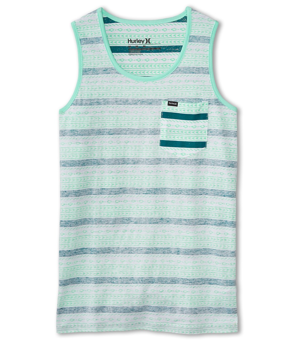 Hurley Kids - Flip It Reverse Tank Top (Big Kids) (Artisan Teal) Boy
