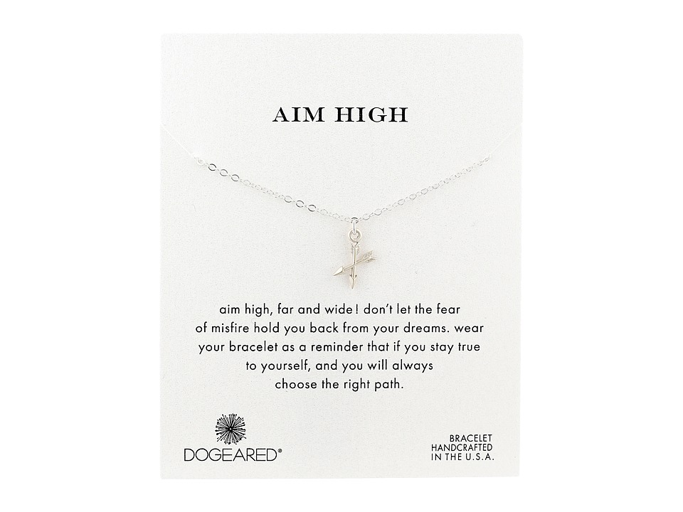 Dogeared - Aim High Crossing Arrows Bracelet (Sterling Silver) Bracelet