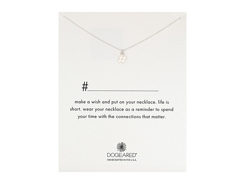 Dogeared - Hashtag Necklace (Sterling Silver) Necklace