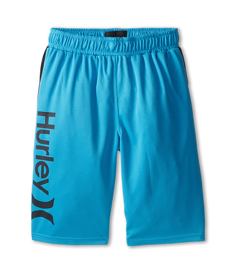 Hurley Kids - Logo Mesh Shorts (Big Kids) (Blue Lagoon) Boy