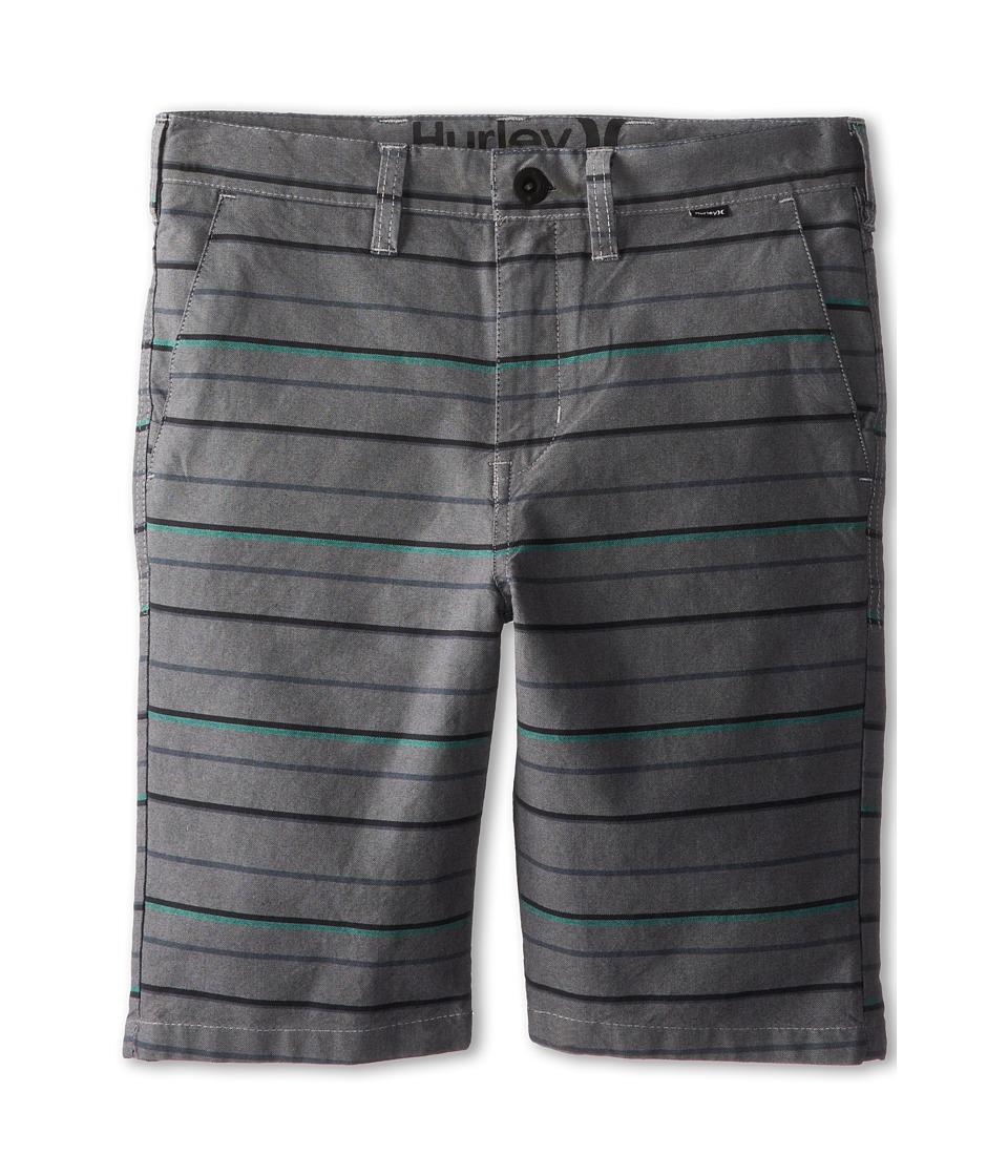 Hurley Kids - Getaway Shorts (Big Kids) (Charcoal Stripe) Boy