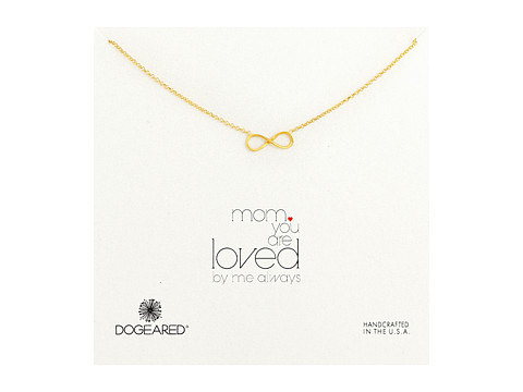Dogeared - Mom, You Are Loved Necklace (Gold Dipped 1) Necklace
