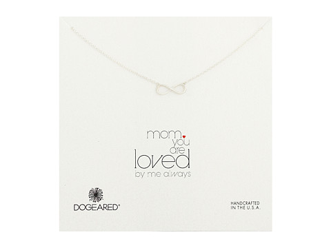 Dogeared - Mom, You Are Loved Necklace (Sterling Silver 1) Necklace