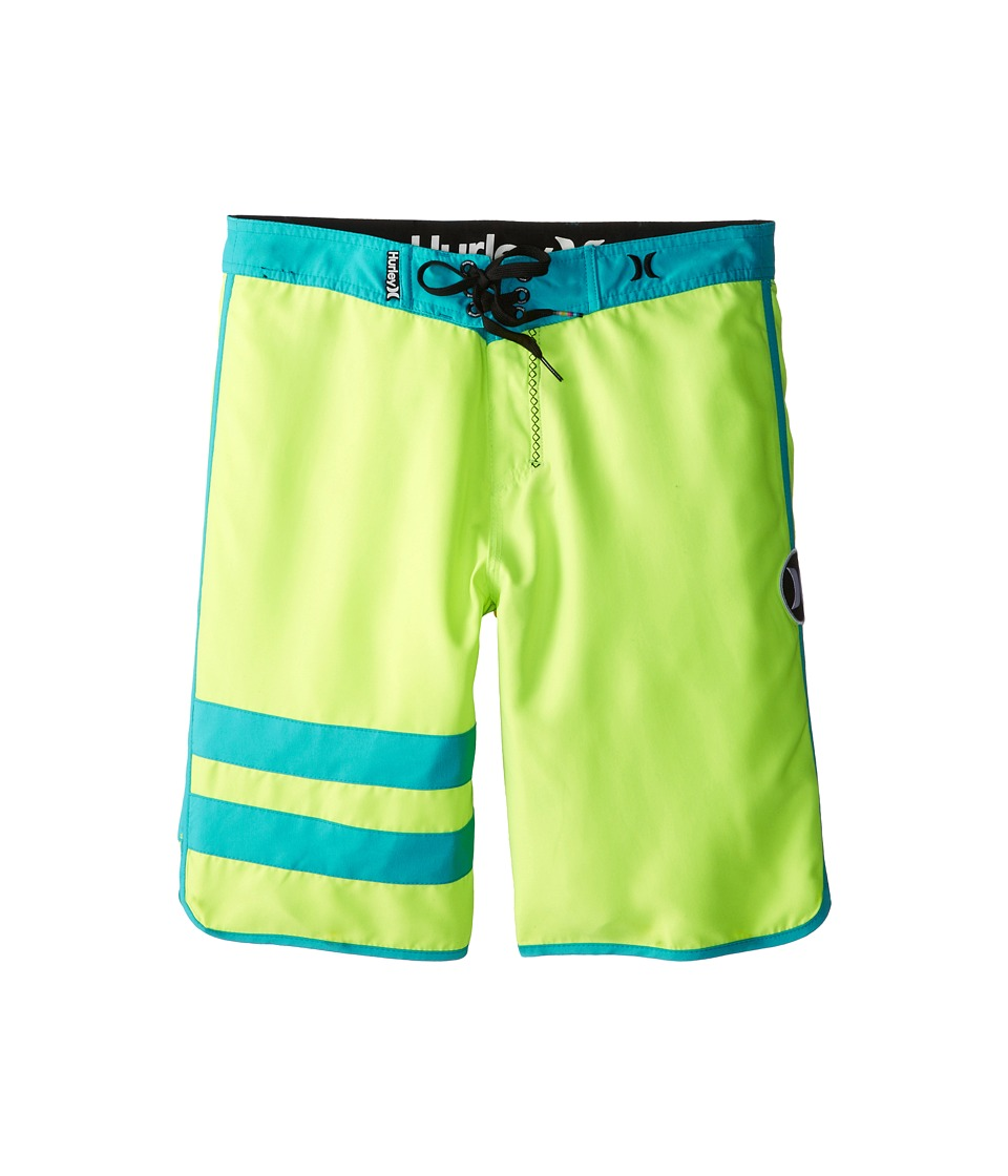 Hurley Kids - Block Party Boardshorts (Big Kids) (Volt) Boy's Swimwear