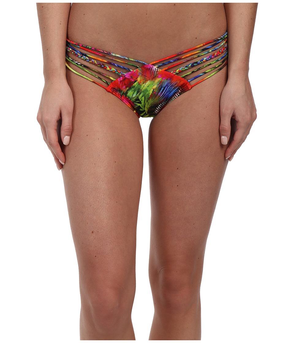 Luli Fama Mundo De Colores Strappy Brazilian Bottom (Multi) Women