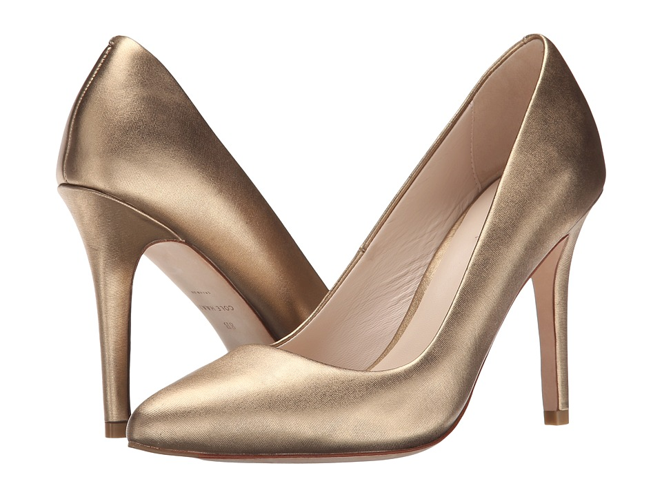 Cole Haan - Emery Pump 100 (Gold Metallic) Women