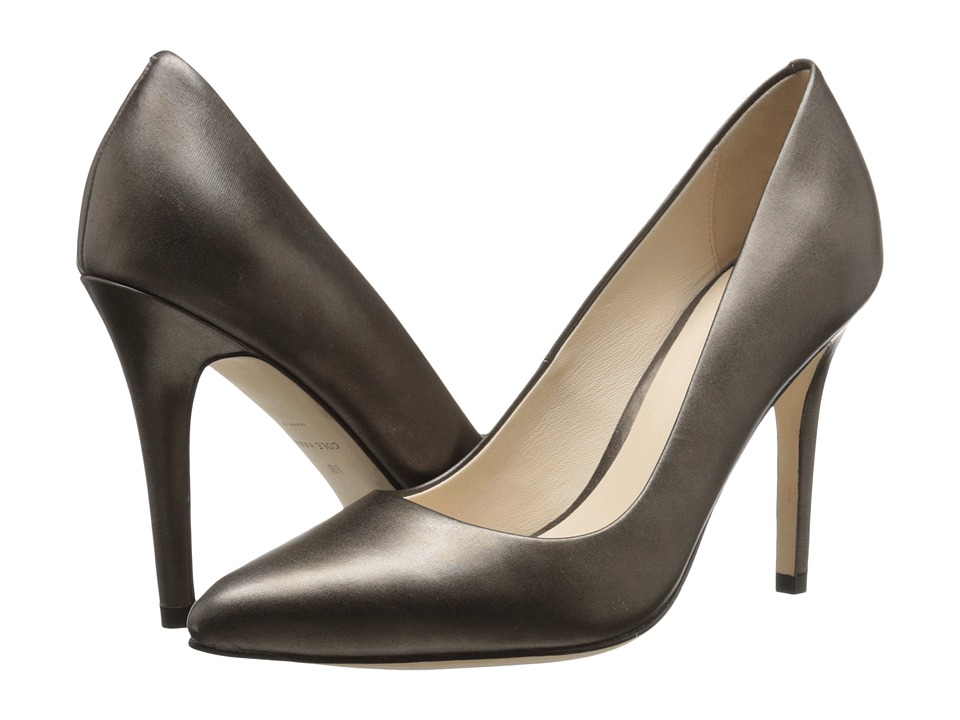 Cole Haan - Emery Pump 100 (Dark Silver Metallic) Women
