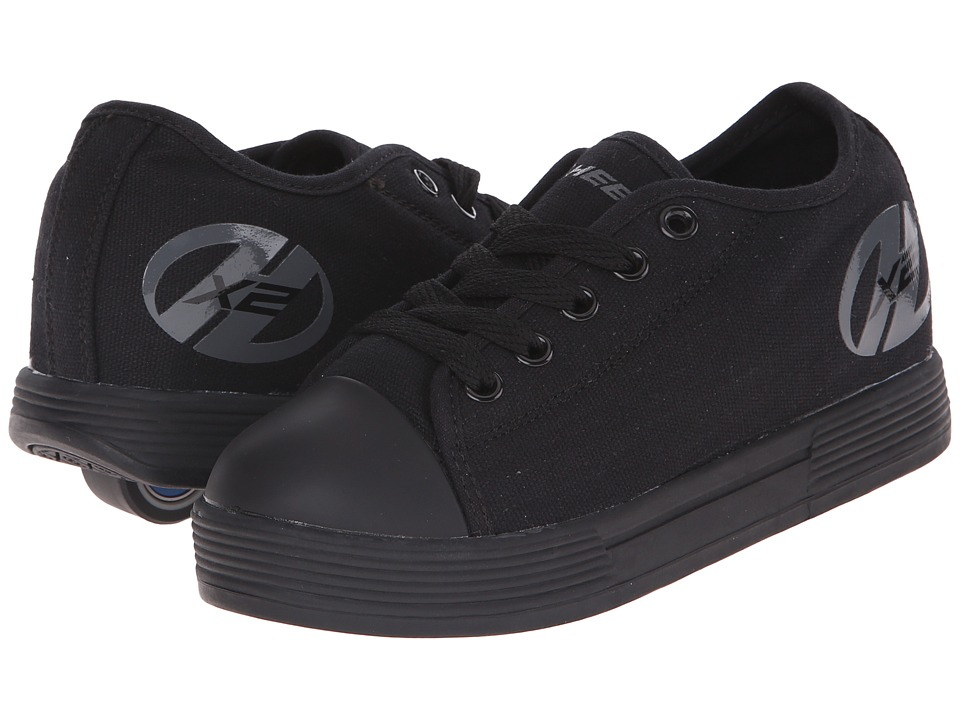 Heelys - Fresh x2 (Little Kid/Big Kid/Adult) (Black) Boys Shoes