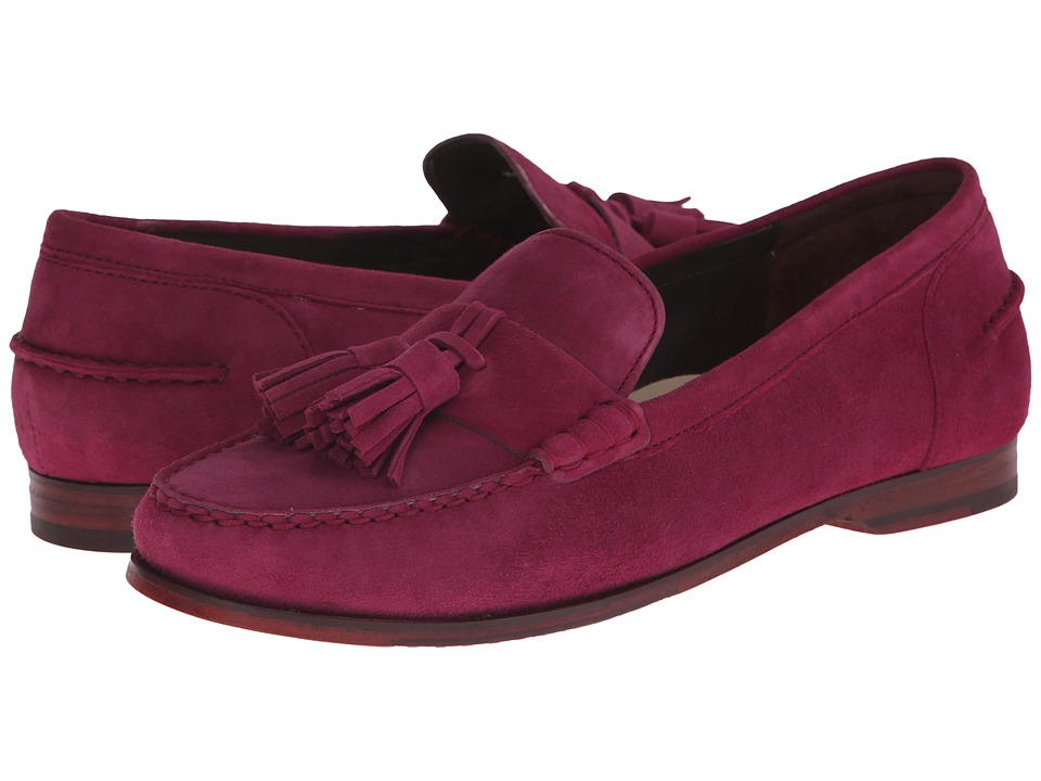 Cole Haan - Pinch Grand Tassel (Cabernet Suede) Women's Slip on Shoes