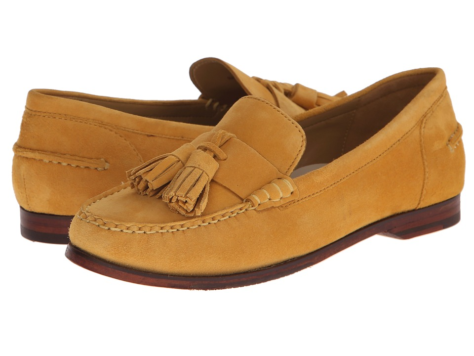 Cole Haan - Pinch Grand Tassel (Autumn Gold Suede) Women's Slip on Shoes