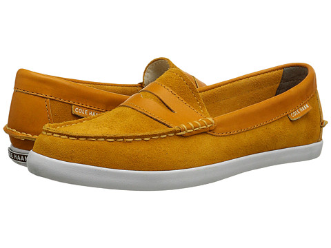 Cole Haan - Pinch Weekender (Autumn Gold/Autumn Gold Suede) Women's Slip on Shoes