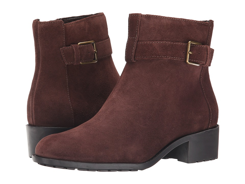 Cole Haan Putnam Waterproof Bootie (Chesnut Suede) Women